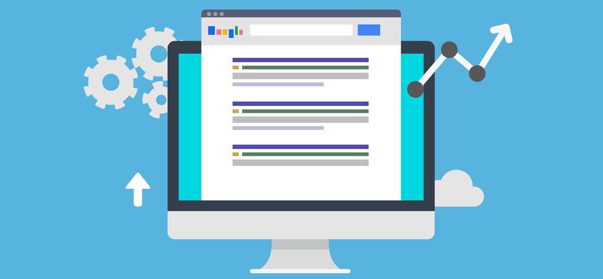 Indexed listings on a search engine